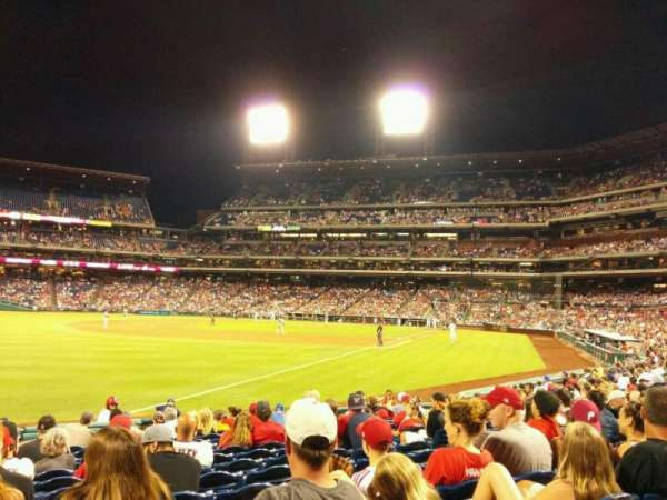 Citizens Bank Park, secção: 139, fila: 15, lugar: 9