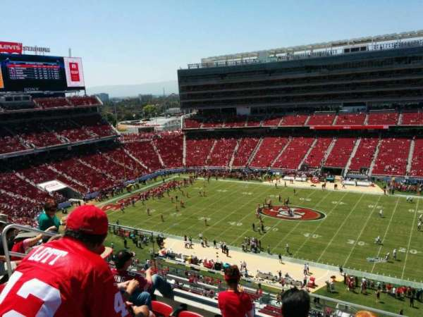 Levi's Stadium, secção: 312, fila: 5, lugar: 17