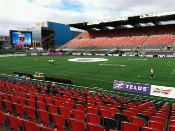 TD Place Stadium, secção: P, fila: 18, lugar: 10
