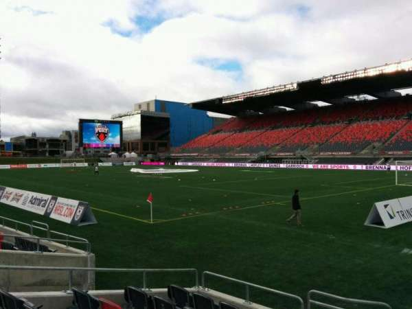 TD Place Stadium, secção: L, fila: 7, lugar: 13