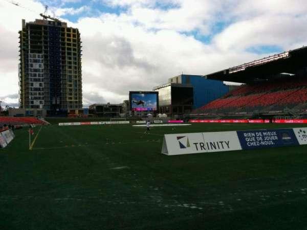 TD Place Stadium, secção: K, fila: 1, lugar: 3