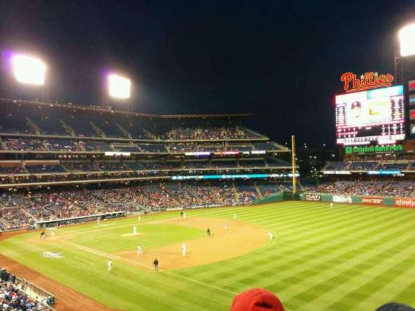 Citizens Bank Park, secção: 209, fila: 3, lugar: 11