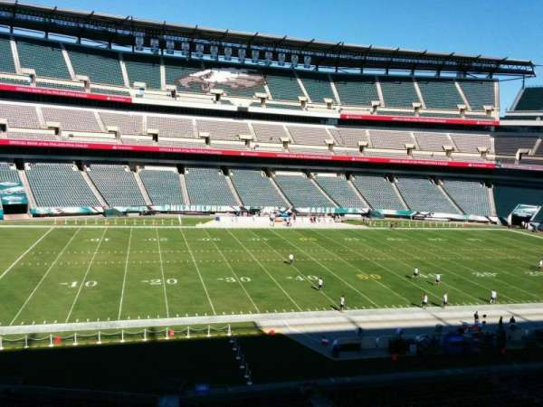 Lincoln Financial Field, secção: c38, fila: 4, lugar: 1