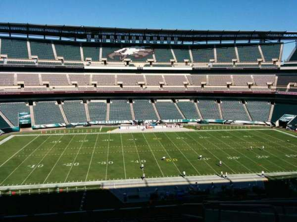 Lincoln Financial Field, secção: c39, fila: 18, lugar: 3