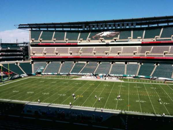 Lincoln Financial Field, secção: c2, fila: 15, lugar: 4