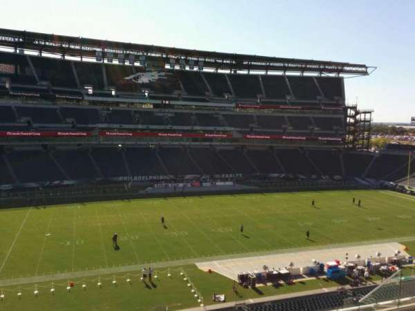 Lincoln Financial Field, secção: c19, fila: 12, lugar: 10
