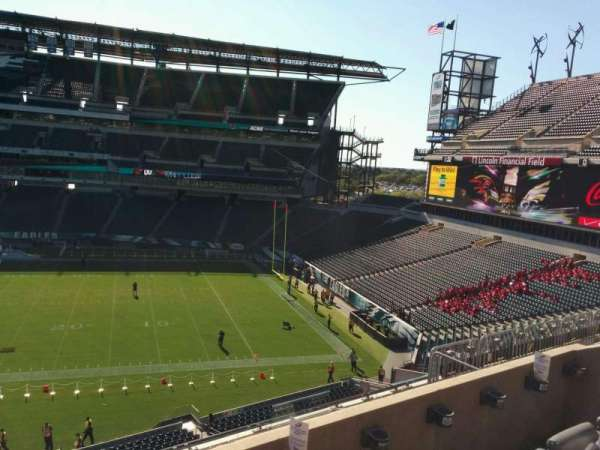 Lincoln Financial Field, secção: c24, fila: 8, lugar: 14