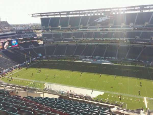 Lincoln Financial Field, secção: 227, fila: 16, lugar: 11
