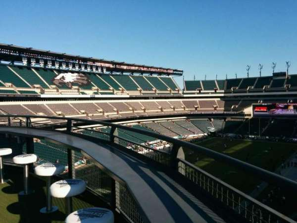 Lincoln Financial Field, secção: Bud Light Eagles Nest