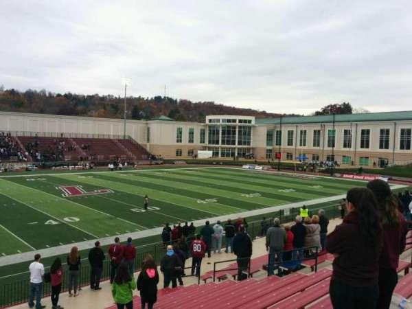Fisher Stadium, secção: 7, fila: p, lugar: 17