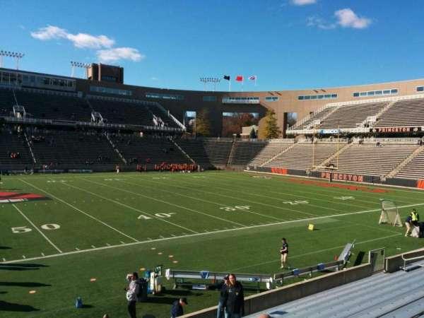 Princeton Stadium, secção: 27, fila: 12, lugar: 12