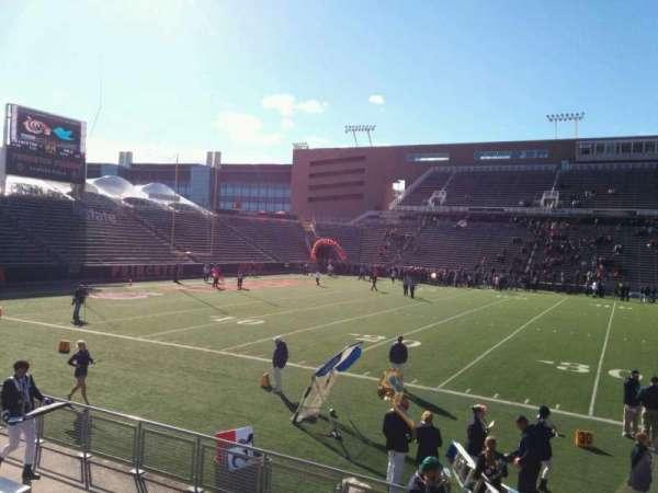 Princeton Stadium, secção: 28, fila: 8, lugar: 16