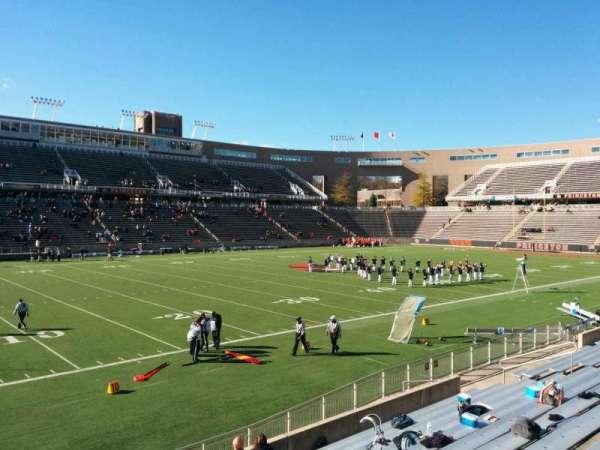 Princeton Stadium, secção: 31, fila: 12, lugar: 11