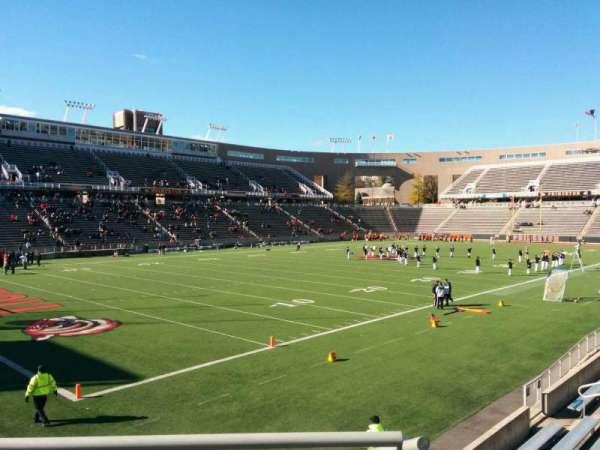 Princeton Stadium, secção: 33, fila: 13, lugar: 19