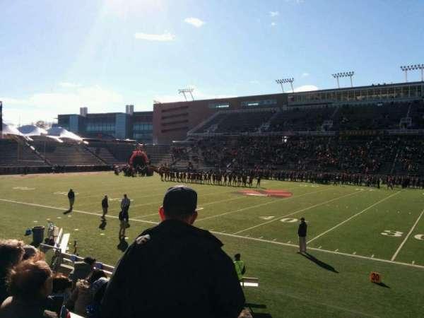 Princeton Stadium, secção: 24, fila: 10, lugar: 17
