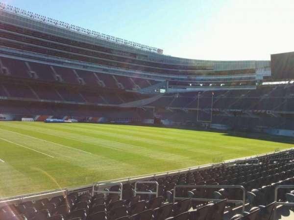 Soldier Field, secção: 141, fila: 12, lugar: 9