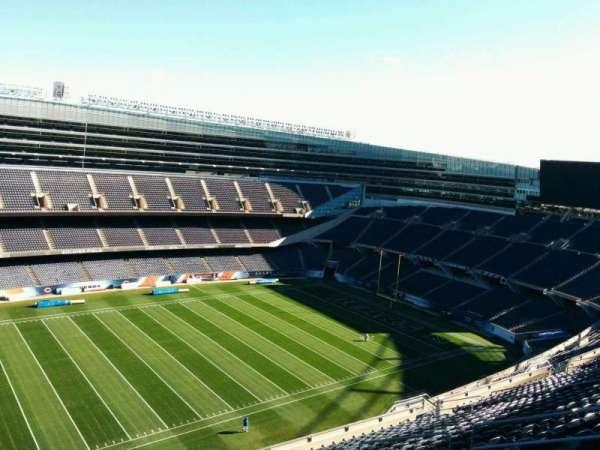 Soldier Field, secção: 440, fila: 19, lugar: 10