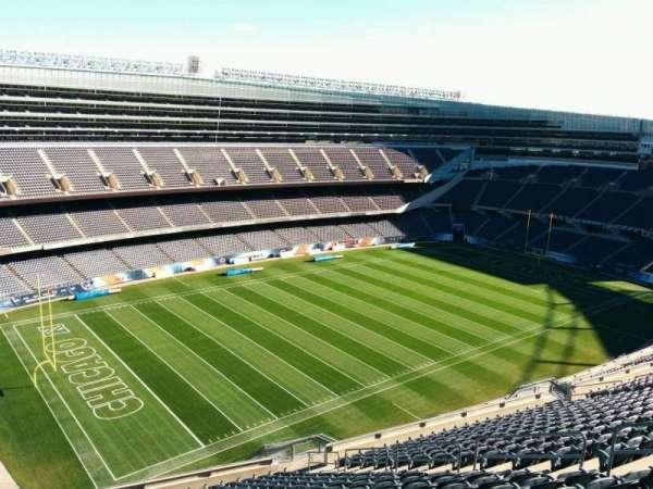 Soldier Field, secção: 443, fila: 19, lugar: 10