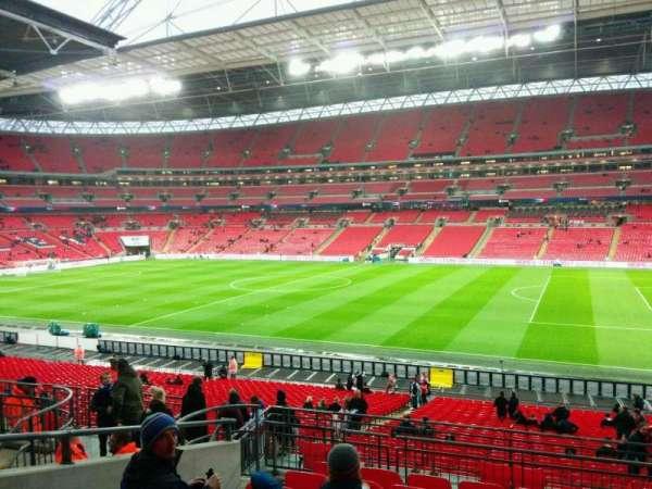Wembley Stadium, secção: 119, fila: 39, lugar: 239