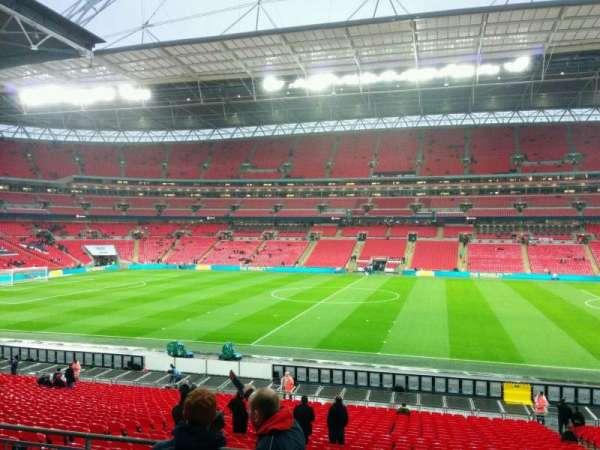 Wembley Stadium, secção: 121, fila: 33, lugar: 290