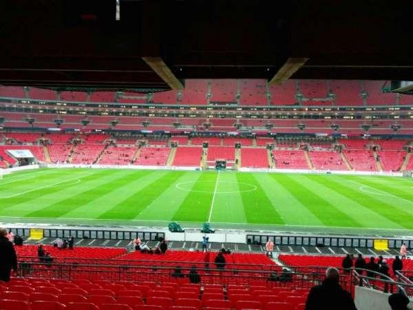 Wembley Stadium, secção: 122, fila: 42, lugar: 317
