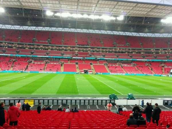 Wembley Stadium, secção: 123, fila: 26, lugar: 26
