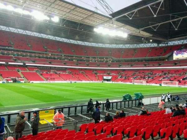 Wembley Stadium, secção: 124, fila: 13, lugar: 51