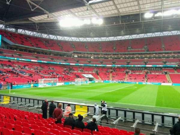 Wembley Stadium, secção: 124, fila: 13, lugar: 53
