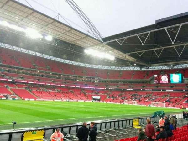 Wembley Stadium, secção: 125, fila: 10, lugar: 82