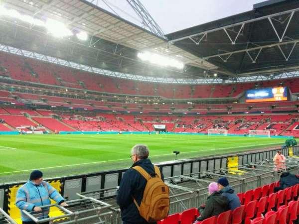 Wembley Stadium, secção: 126, fila: 6, lugar: 110