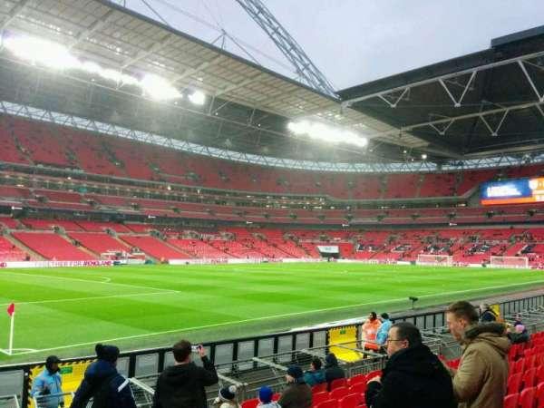 Wembley Stadium, secção: 127, fila: 11, lugar: 139