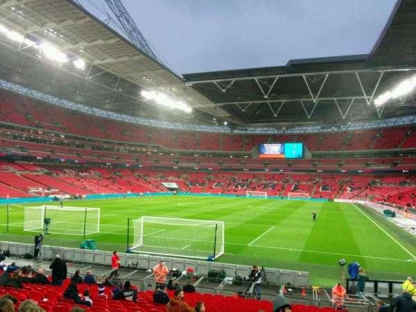 Wembley Stadium, secção: 131, fila: 22, lugar: 260