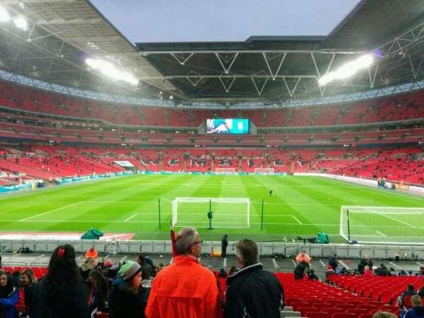 Wembley Stadium, secção: 133, fila: 26, lugar: 316