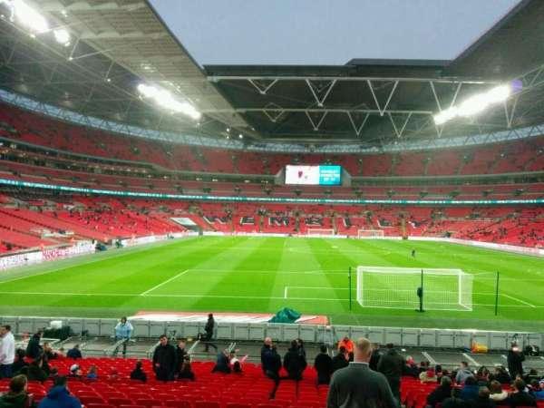 Wembley Stadium, secção: 135, fila: 24, lugar: 19