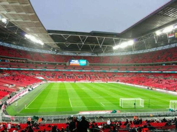 Wembley Stadium, secção: 135, fila: 42, lugar: 50