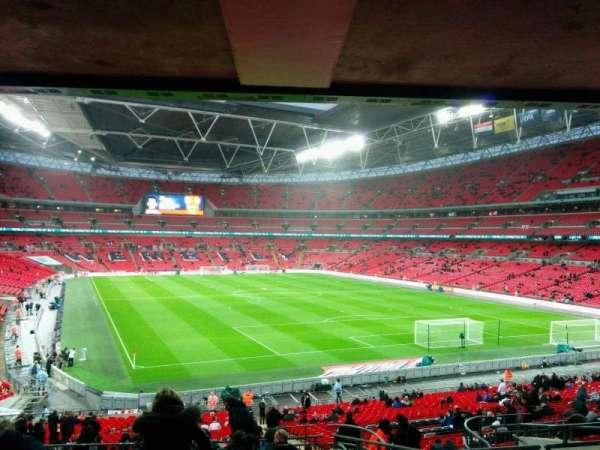 Wembley Stadium, secção: 136, fila: 43, lugar: 81