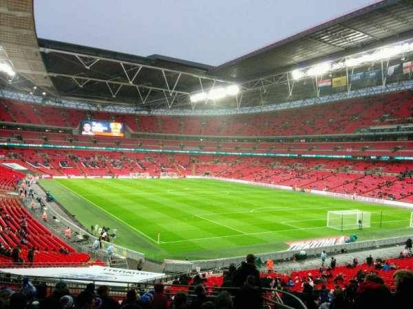 Wembley Stadium, secção: 137, fila: 41, lugar: 109