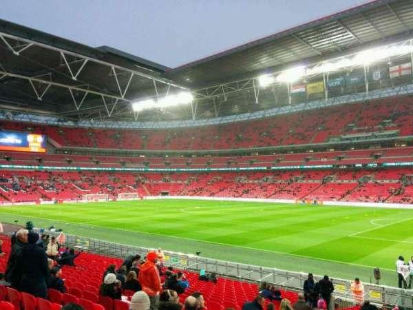 Wembley Stadium, secção: 140, fila: 23, lugar: 209