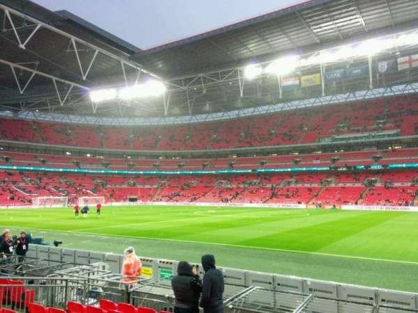 Wembley Stadium, secção: 142, fila: 9, lugar: 260