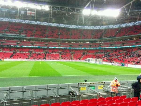 Wembley Stadium, secção: 143, fila: 9, lugar: 260