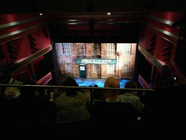 Adelphi Theatre, secção: upper circle, fila: k, lugar: 15