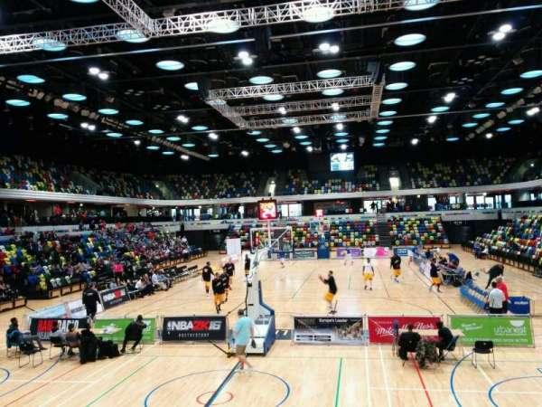Copper Box Arena, secção: 107, fila: 9, lugar: 48
