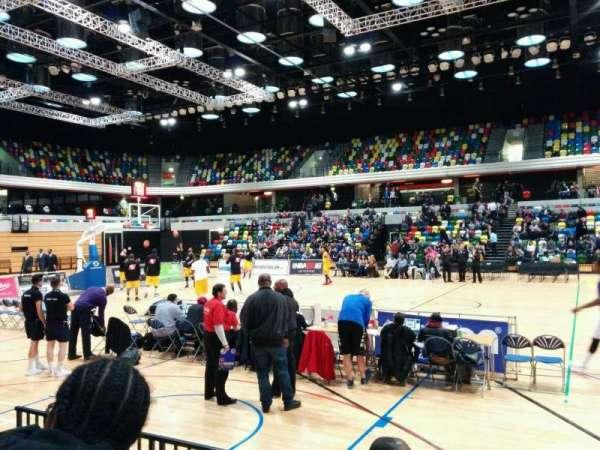 Copper Box Arena, secção: 104, fila: 4, lugar: 69