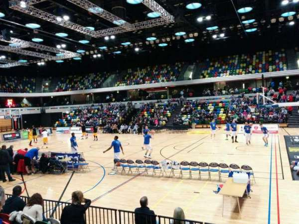 Copper Box Arena, secção: 103, fila: 7, lugar: 52