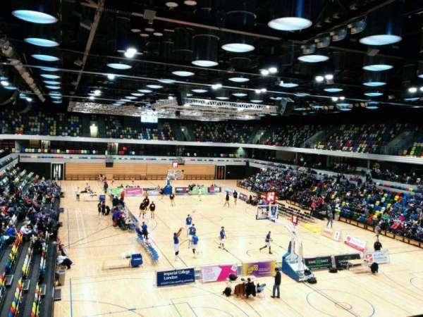 Copper Box Arena, secção: 201, fila: 13, lugar: 84