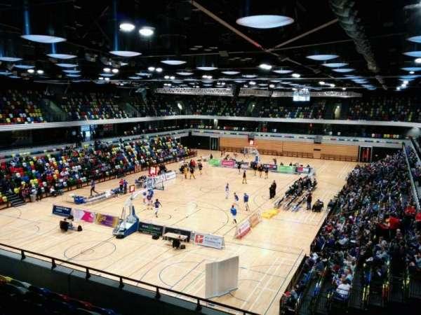 Copper Box Arena, secção: 213, fila: 17, lugar: 17