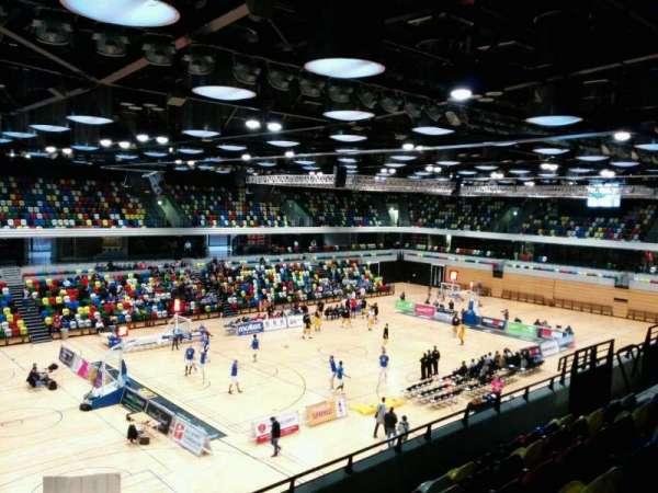 Copper Box Arena, secção: 212, fila: 16, lugar: 136