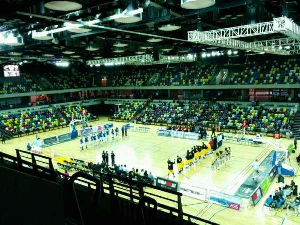 Copper Box Arena, secção: 210, fila: 15, lugar: 35