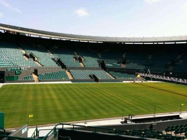 Wimbledon, Court No. 1, secção: 32, fila: e, lugar: 281