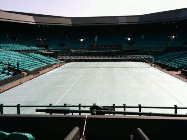 Wimbledon, Centre Court, secção: 206, fila: b